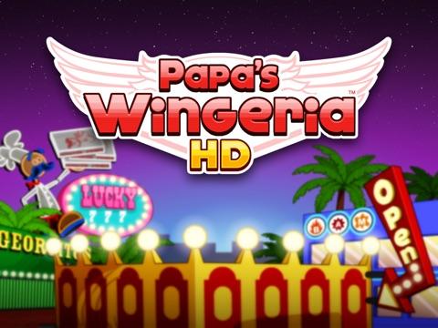 Papa's Wingeria HD на iPad
