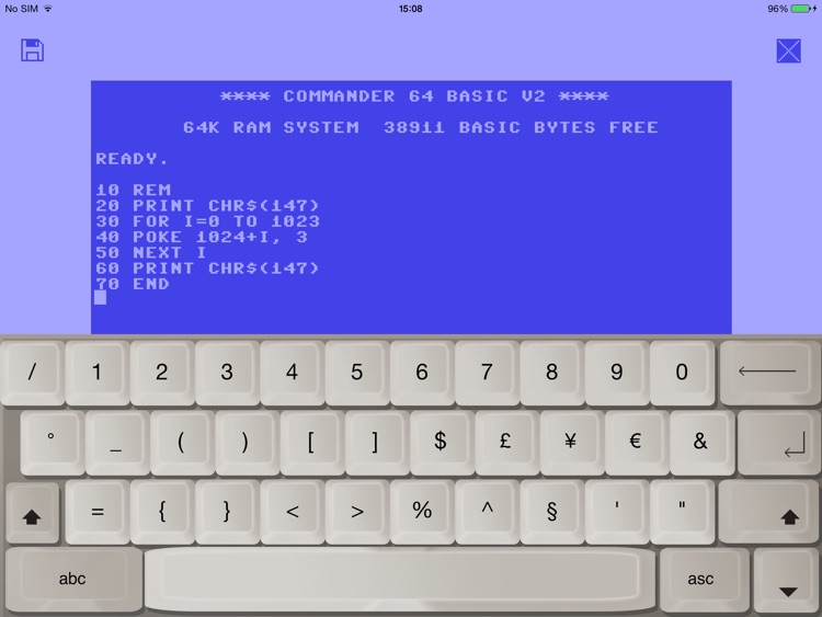 Early Computers – 8 bit Vintage Text Editor & Old Keyboard for Retro