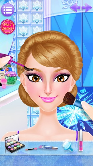 Frozen Ice Queen Beauty Spa On The App Store