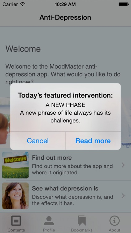 MoodMaster Anti-Depression App