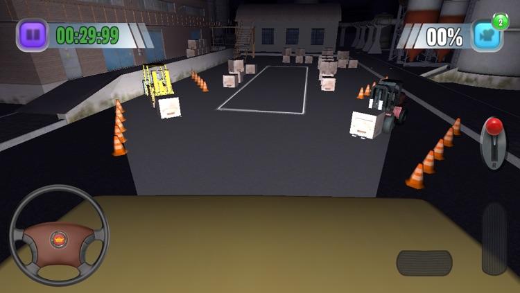 TruckSim: 3D Night Parking Simulator