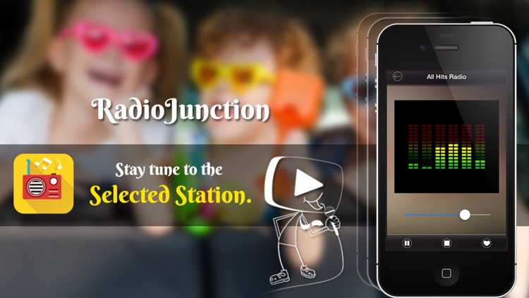 RadioJunction- A FREE FM Radio Online App to Listen your Favorite Radio Stations right on your Device