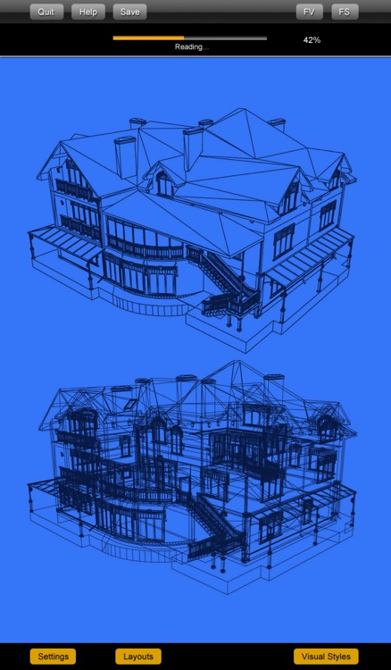 CAD Expert - edit and view DXF/DWG /OCF drawing files screenshot-3