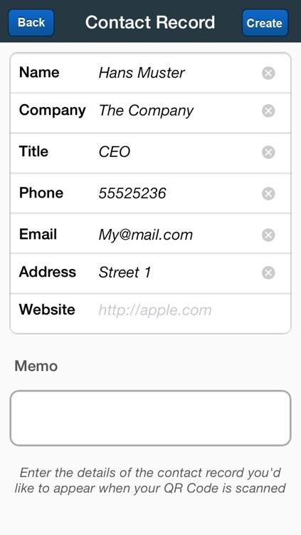 V-Card Scanner - Data and Information Exchange screenshot-3