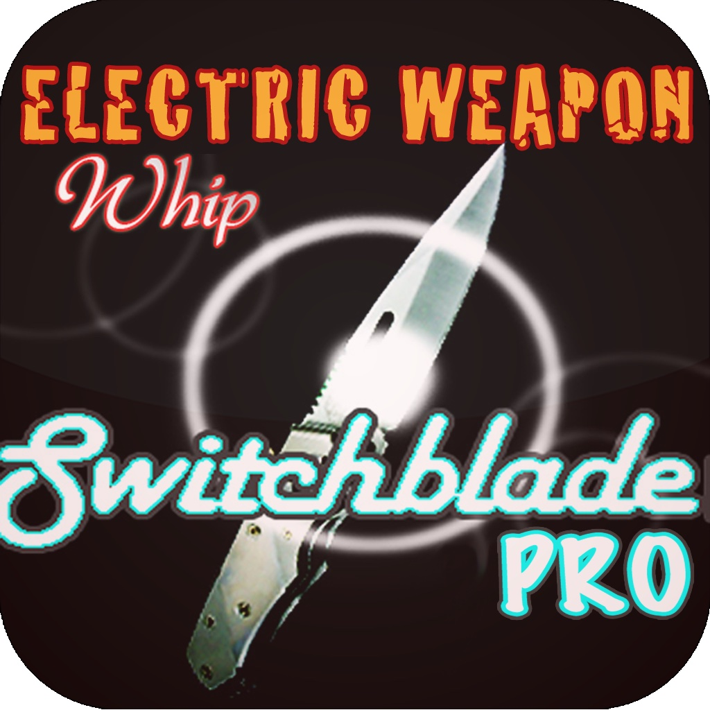 Switchblade w/ Electric Weapon Gun & Whip