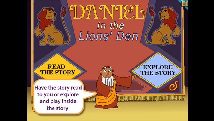 Daniel in the Lion's Den - Little Ark Interactive storybook in English