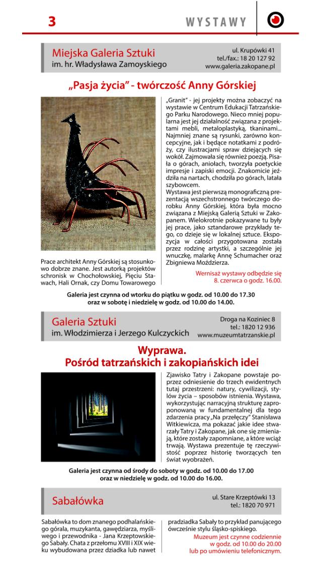 INFOGRAM Zakopiański Informator screenshot three