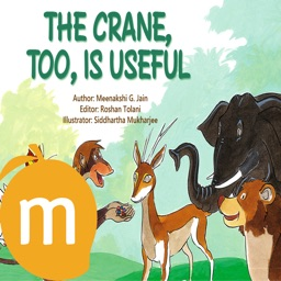 The Crane Too Is Useful - Interactive eBook in English for children with puzzles and learning games
