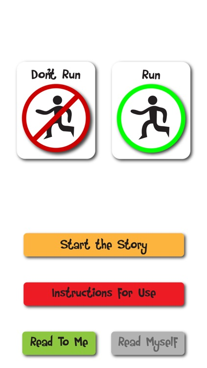 Running Social Story and Visual Tool About When and Where to Run screenshot-2