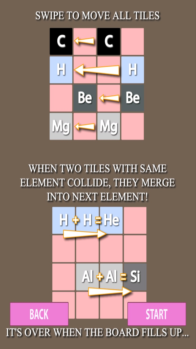 Periodic table in 2048 memorize elements by puzzle app price drops screenshot 5 for periodic table in 2048 memorize elements by puzzle urtaz Gallery