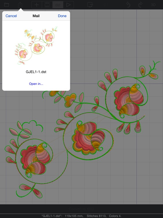 GR5 Embroidery Designer screenshot-3