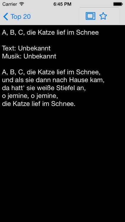 Liederbuch - Kinderlieder und Volkslieder