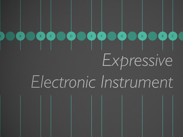 Ribbons : Expressive Electronic Instrument