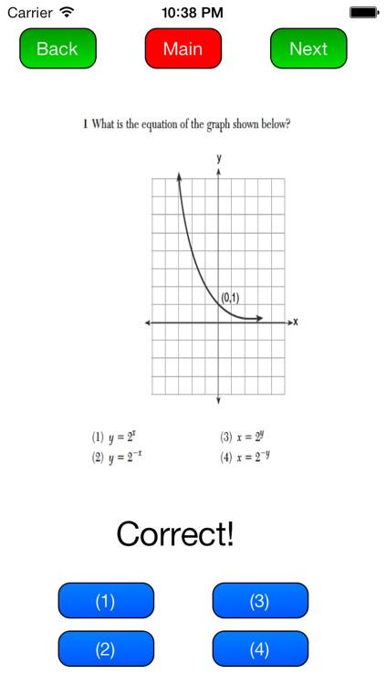 New York State Regents Review- Algebra 2 & Trigonometry screenshot-4