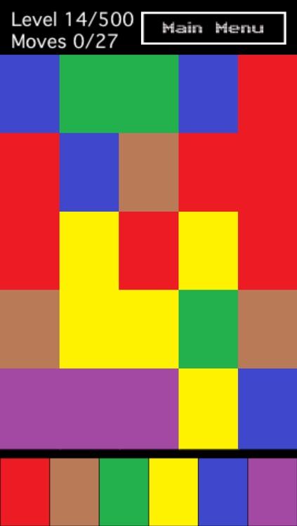 Pixel Colors puzzle game screenshot-3