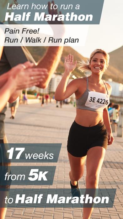 Half Marathon Trainer - Run/Walk/Run Beginner and Advanced Training Plans with Jeff Gallowayのおすすめ画像1