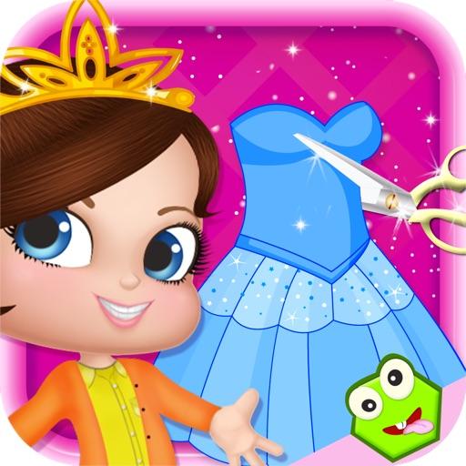 Royal Baby Tailor - Design & Dress Up Games For Kids