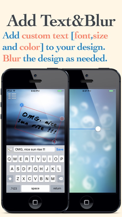 Blurred - Create your own custom blur wallpapers screenshot-3