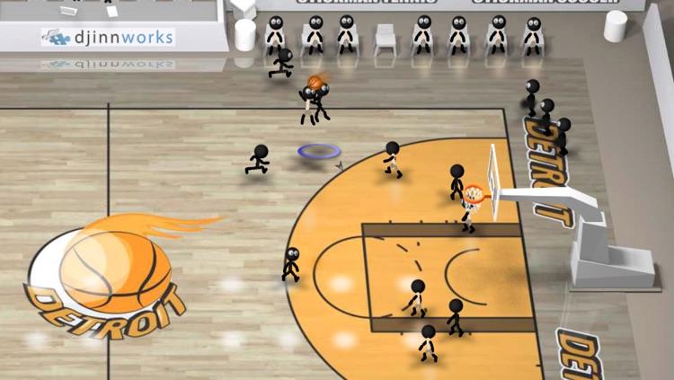 Stickman Basketball Blitz screenshot-3