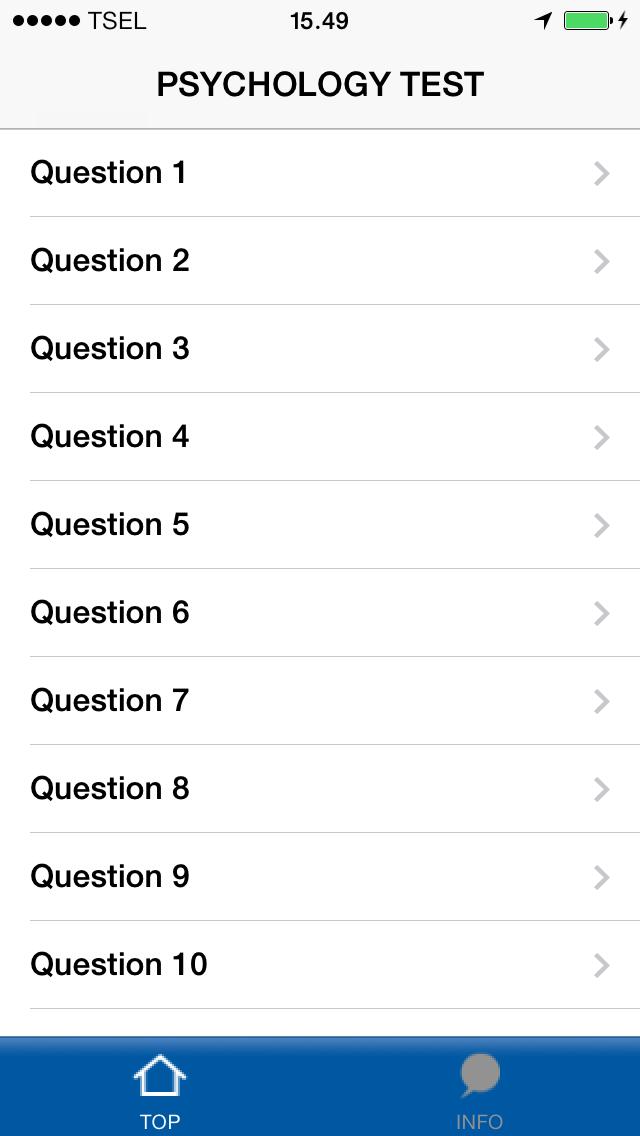 Funny Test Psychology screenshot two