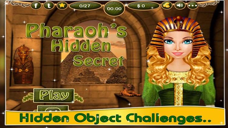 Pharaoh's Secret - Find Hidden Objects