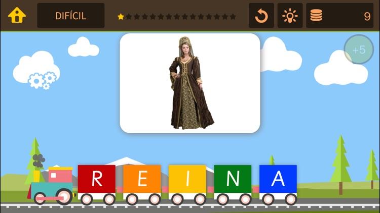 Tren de palabras – Juegos de spelling bee y puzzle busca la palabra para niños screenshot-4