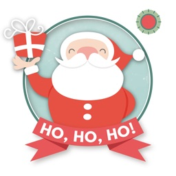 HoHoHo! Merry Christmas & Happy New Year - Add sticker and frame over image
