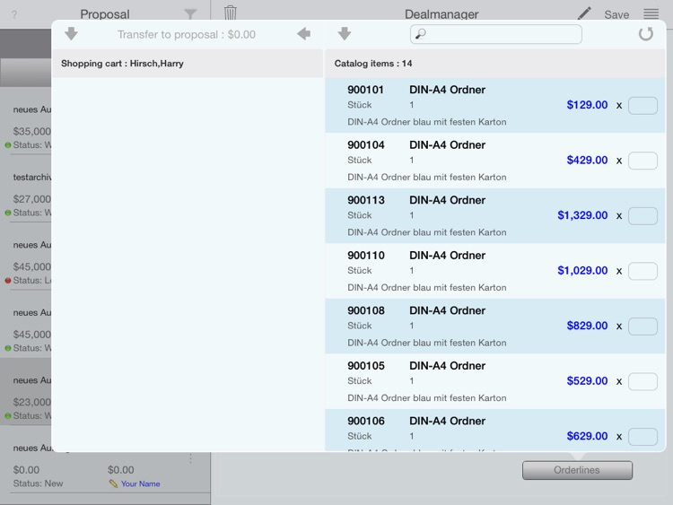 CRM Business Deals screenshot-3