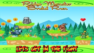 Sheep Monster Ridge Brutal Attack Run - Hay Pile Pet Jumping Runner Game Screenshot on iOS
