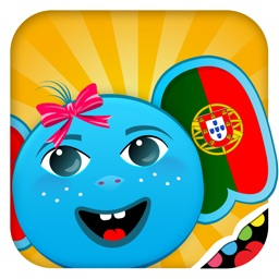 iPlay Portuguese: Kids Discover the World - children learn to speak a language through play activities: fun quizzes, flash card games, vocabulary letter spelling blocks and alphabet puzzles