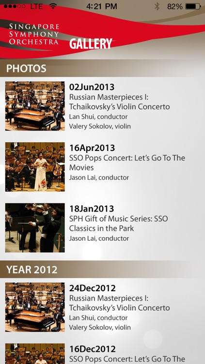 Singapore Symphony Orchestra - SSO screenshot-4