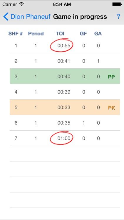 Hockey Time screenshot-3