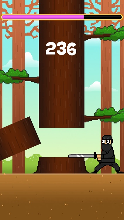 Samurai Timber Chop - Slice and Cut the Tree, Avoid the Falling Branches screenshot-3