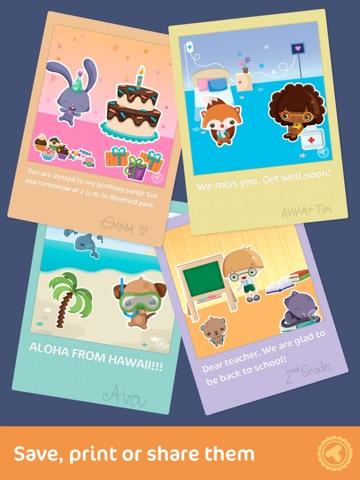 Toonia cardcreator create print send personalized greeting screenshot 3 for toonia cardcreator create print send personalized greeting cards m4hsunfo