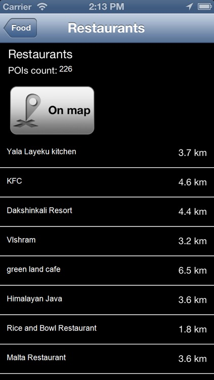 Kathmandu, Nepal Offline Map - PLACE STARS screenshot-3