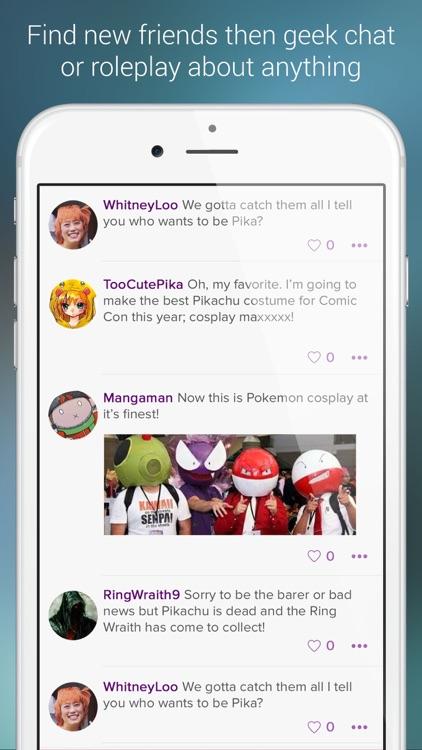 Geeking Chat & Roleplay Anime screenshot-3