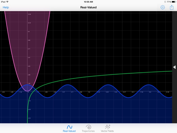 GraphMe HD: Graphing Calculator screenshot-4