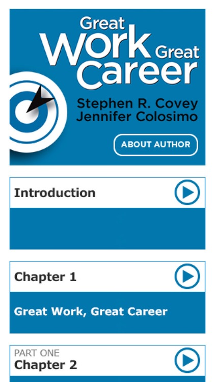 Great Work Great Career by Stephen Covey and Jennifer Colosimo