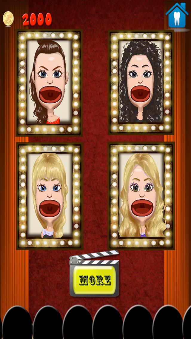 Celebrity Dentist Office Teeth Dress Up Game - Fun Free Nurse Makeover Games for Kids, Girls, Boysのおすすめ画像3
