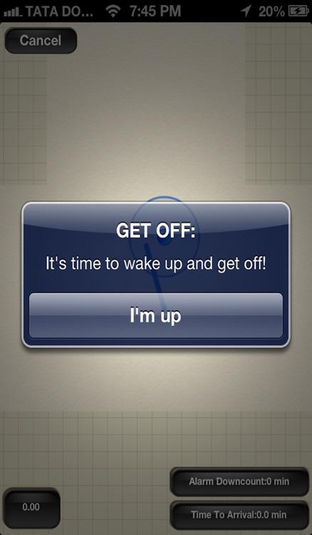 Get Off Wake Up In Time Global Travel Guide Alarm Clock screenshot-4
