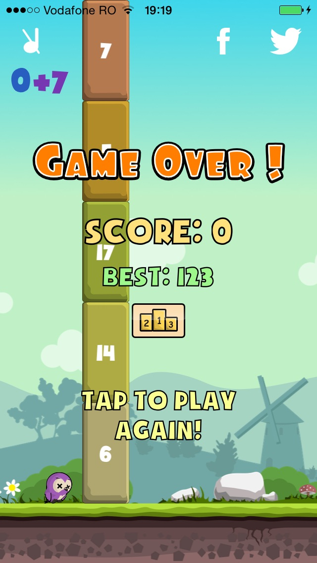 Screenshot #3 pour Flappy Little Bird