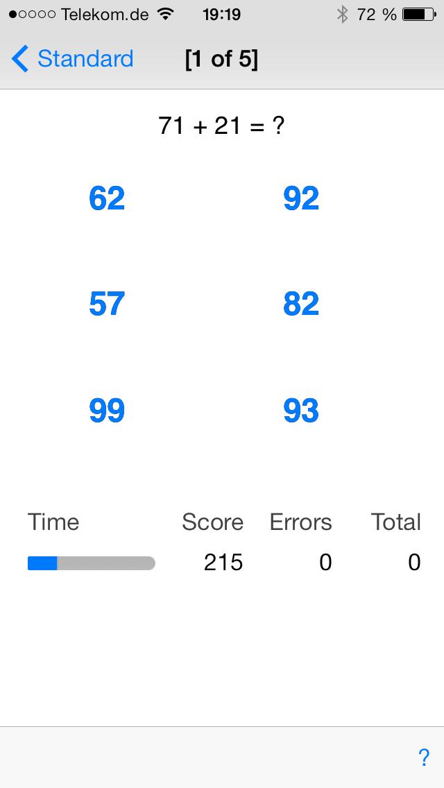 Math Trainer screenshot four