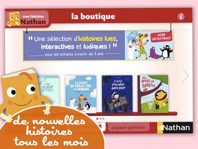 Mes Histoires Nathan Des Livres Interactifs Pour Les