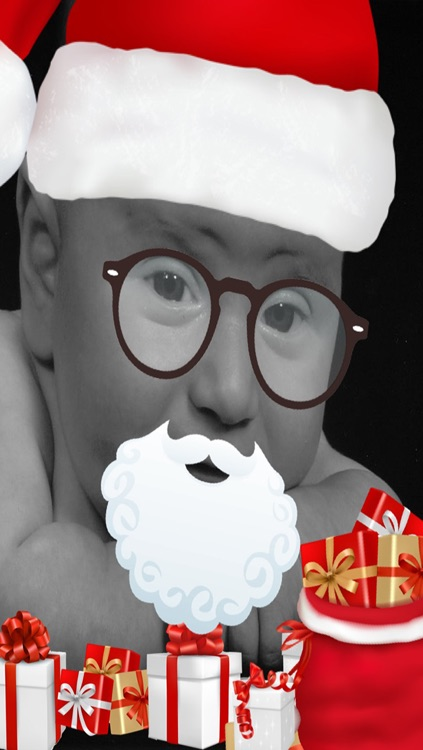 Christmas and New Years picture booth app
