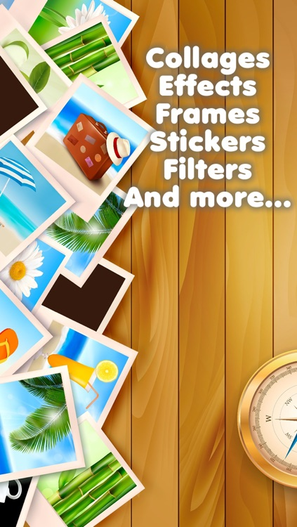 Inastant Collage maker plus photo frame - Add awesome picture magic effects & frames with insta collages maker