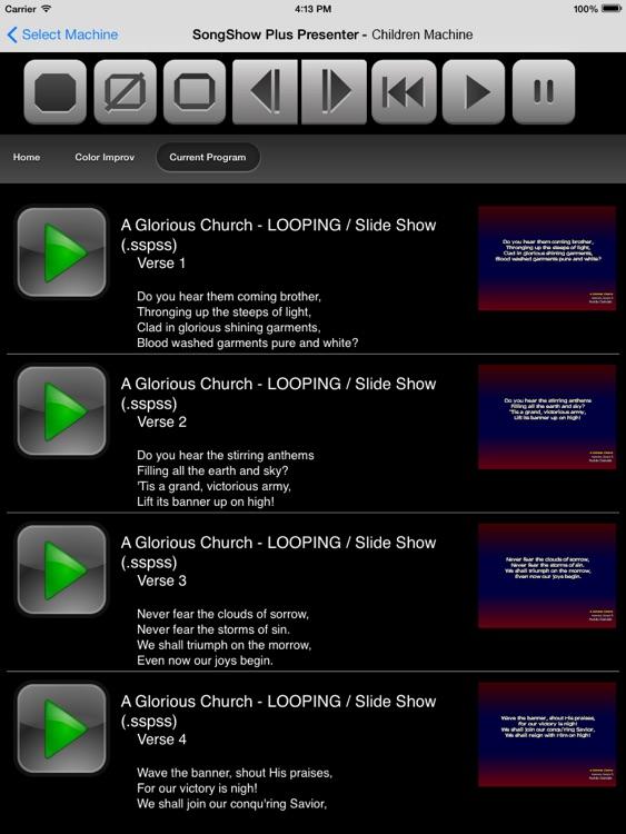 SongShow Plus Presenter screenshot-3