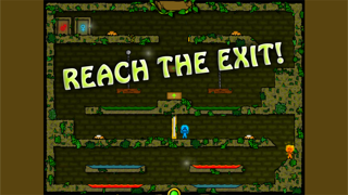 Fireboy & Watergirl 2 - The Forest Temple screenshot three