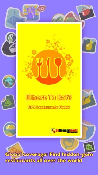 Screenshot for Where to Eat? PRO - löydä ravintoloita GPS:n avulla. in Finland App Store