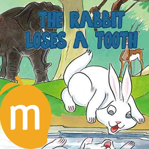 The Rabbit Loses A Tooth - An Interactive eBook in English for children with learning games