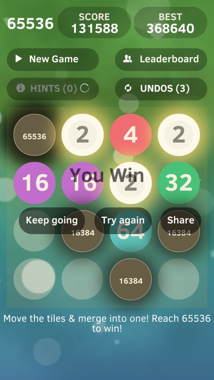 65536 - Ultimate Challenge Puzzle Game Free